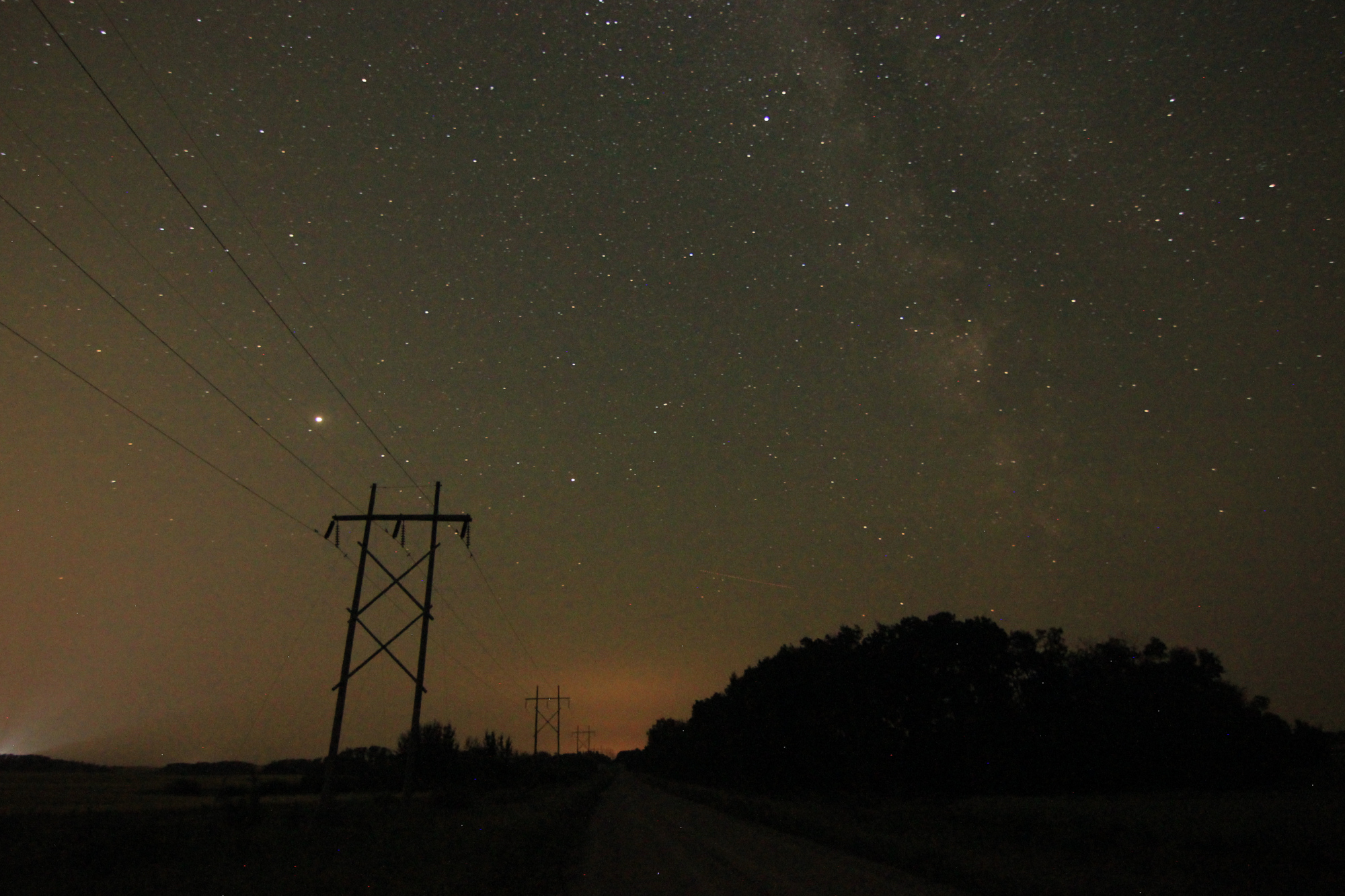 Milky Way (unprocessed photo)
