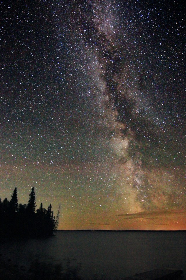 The Milky Way at Spruces in Riding Mountain National Park