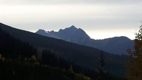 Looking west to Mt. Sloan