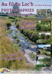 """Ti Hanok : Affiche de l'exposition """"Au fil du Loch"""" de Patrick Lecouffe"""