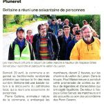 Article Ouest France Beltaine