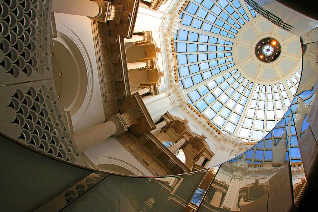 Atrium of the Tate Britain Museum, London. ©Patrick J. Lynch, 2017. All rights reserved.