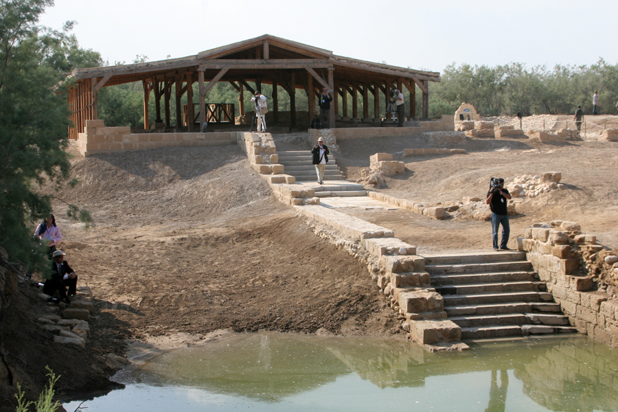 The site on the Jordan where Christ was baptized. (Patrick Novecosky photo)