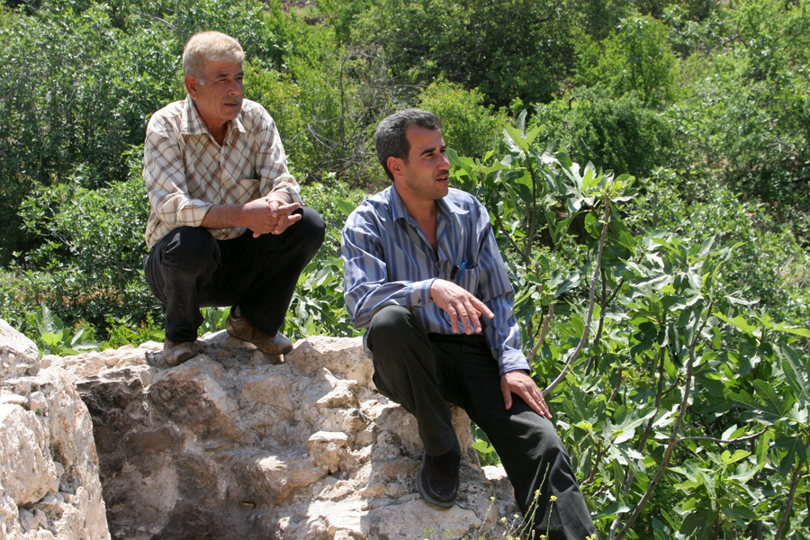 Our local guides at Ajloun