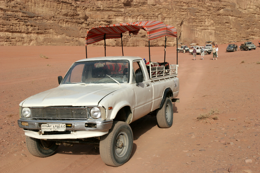 Our ride, Wadi Rum