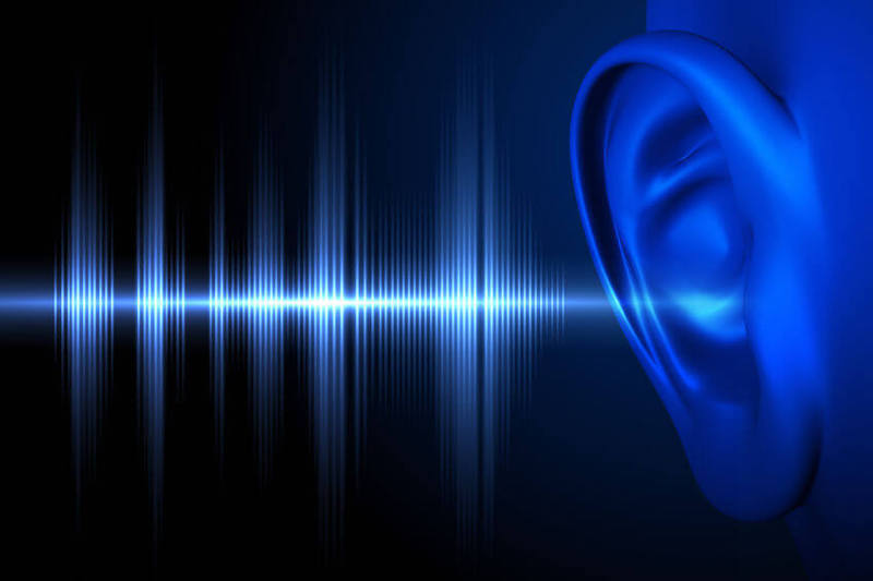 Receive Rhema Word image showing an ear hearing a voice