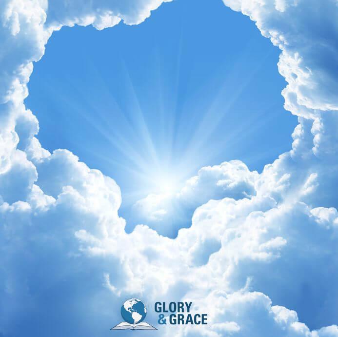 Shekinah show inside you image showing a cloud
