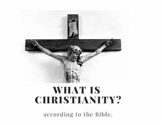 What is christianity? image showing Jesus on the cross