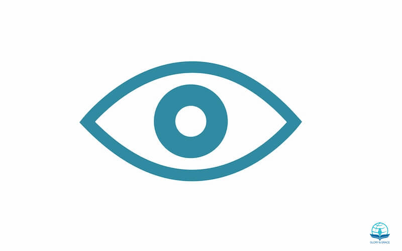 Spiritual eyes showing an eye icon