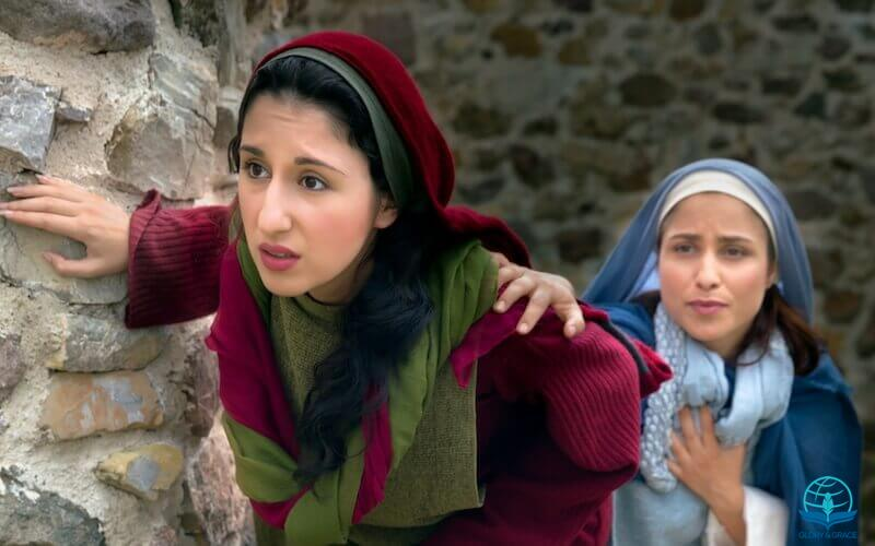 Easter every day showing two women at the empty tomb