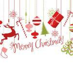 Christmas or X-mas showing the words christmas