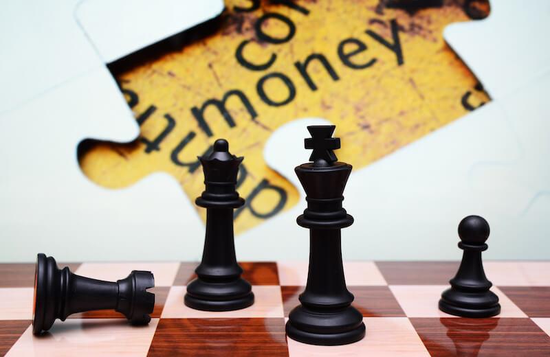 4 pillars of the prosperity gospel showing chess board