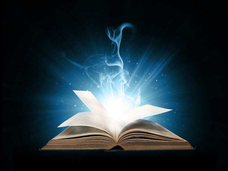 The word and the Spirit work together showing light from the Bible