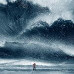 unspectacular miracles showing waves on the sea