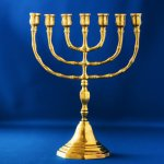 The sevenfold Spirit of God: the Lampstand and the Lamb showing the menorah