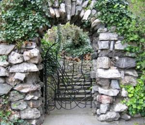 A gate in Iveagh Gardens
