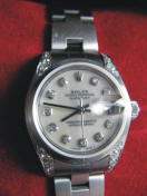 This Rolex watch is an auction item in the Lochmiller case.