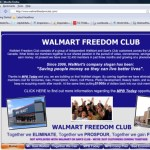Another MPB Today Site Uses Walmart's Name In Domain Name; Positions 'Grocery' Biz As 'Freedom Club' In Domain Hidden Behind Proxy; Uses Images Of Buffet, Trump And Late Sam Walton