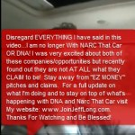UPDATE: MLM Pitchman Jeff Long Warned Against 'EZ MONEY Pitches' When He Fled DNA, Narc That Car Last Year; Long Now Promoting AutoXTen Cycler Amid Claims That Members Can 'Turn $10 into $199,240'