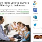 'Earn Profit Click,' Scheme Targeted At Profitable Sunrise Victims On Facebook, Says It Will Build Its Program With Targeted Spam On Facebook And Twitter
