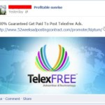 Profitable Sunrise Facebook Site Again Used To Drive Business To TelexFree, An Alleged Pyramid Scheme