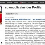 PROFITABLE SUNRISE CASE: Did Fake Reporter Use Photo Of Real Reporter In 'Story' Titled 'Nanci Jo Frazer WINS in Court - A Case Of Innocent Ignorance?'