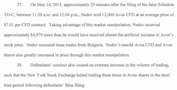 From the SEC's complaint against Nedev and several purported companies.