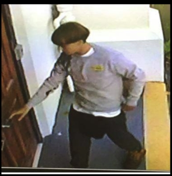 Photo of suspect. Source: Charleston Police Department, via Facebook.