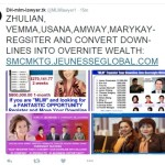 Is Jeunesse Rep Trying To Raid Vemma, Usana, Amway And Mary Kay Downlines? And Is Affiliate A Lawyer?