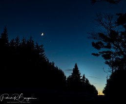 chemin nuit