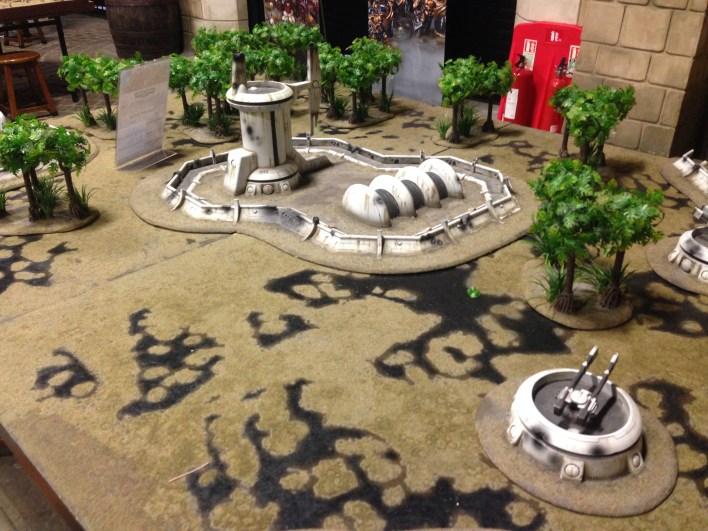 Gaming Hall Tau Table