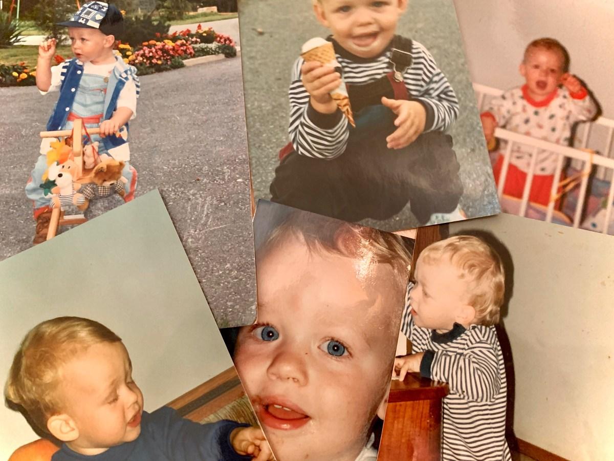 Der Texter Patrick Schlauer als Kind