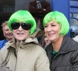 green wigs