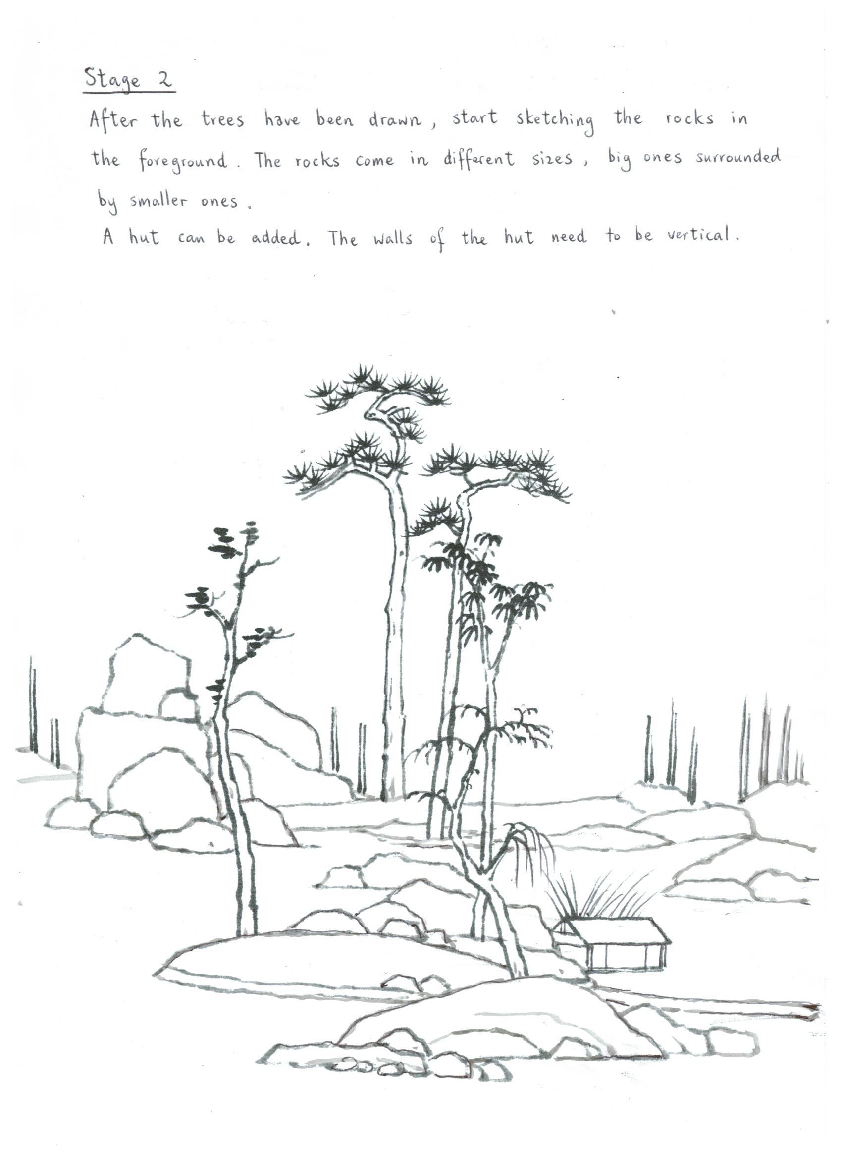 Shan Shui Painting Tutorial 2 Patrick Siu Chinese