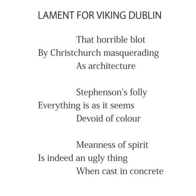 Lament for Viking Dublin