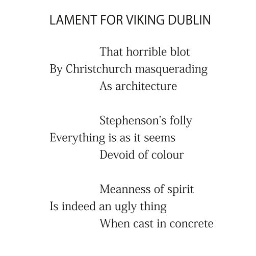 Lament for Viking Dublin by Patrick Stack