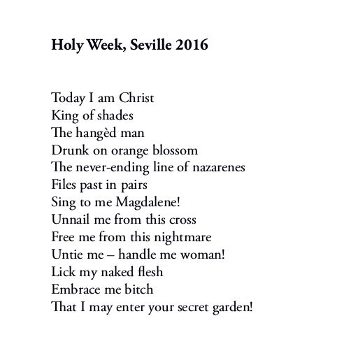 Holy Week Seville 2016 (full text) by Patrick Stack