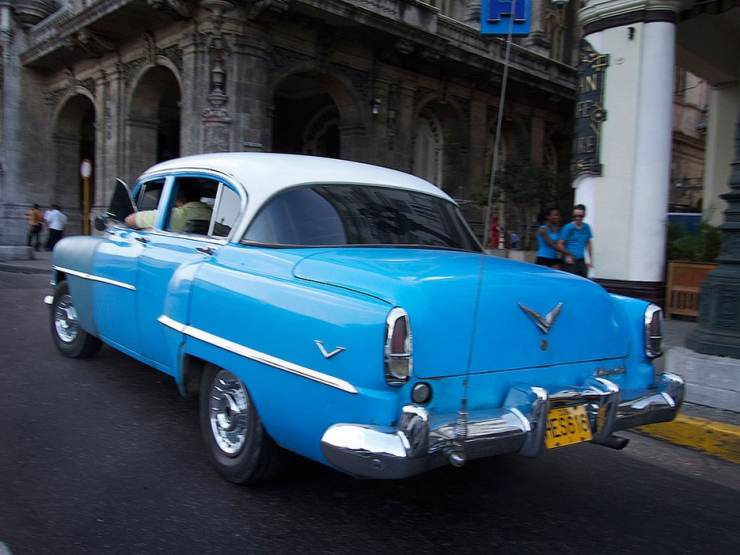 Cars from the 1950s have become one of Cuba's iconic sights. They are often restored and kept in immaculate condition.