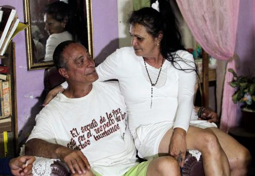 Angel Figueredo Castellón and his wife, Haydée Gallardo Salazar (Photo: Reuters)
