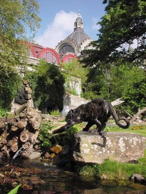 Zoo Jaguar 152x51cm 1/6 ©2002