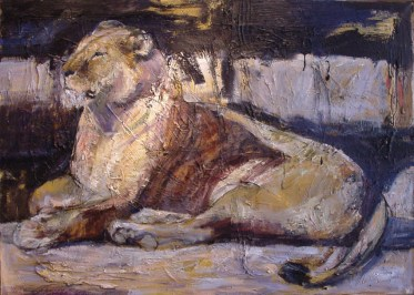 Lioness 150x100cm oil on canvas ©2004