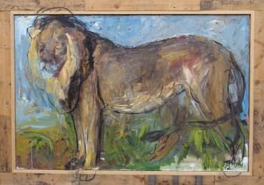 Lion 150x100cm oil on canvas ©2004