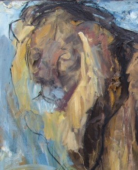 Lion 150x100cm oil on canvas ©2004