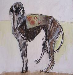 Domestic Dog Mixed media 126x122cm ©2013