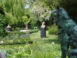 View garden exhibition Latem Gallery