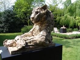 Panther Bust 70x56cm 1/8 bronze