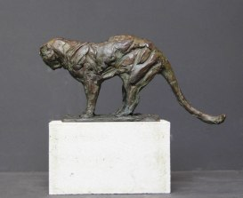 Small Panther 13 x 27 x 7 cm 1/30 2016