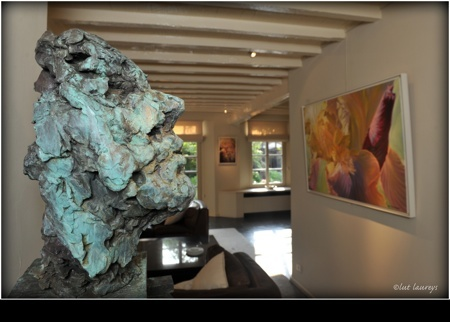 Interior view of the exhibition Latem Gallery ©2014