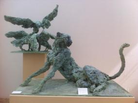 Originals in paper at the exhibition at the Orangerie du Sénat ©2013