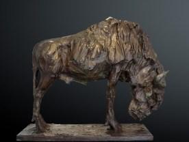 Gnu Wildebeast 85x120cm bronze 1/3 ©2001